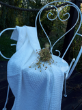 Lněná osuška Natural White