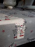 lněná štola, vánoční štola, vánoční prostírání