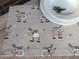 Vánoční prostírání Christmas Deers