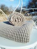 Lněná osuška a ručník Natural