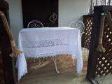 Lněný ubrus Charming Cottage
