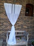 závěs, lněný závěs, záclona, lněná záclona, romantická záclona, bílá záclona,