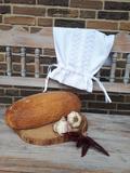 Lněný pytlík na chléb Love Lace