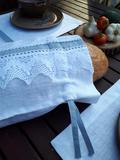 Lněný pytlík na chléb Cottage Dream