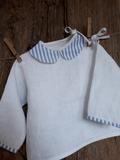 Lněná košilka Blue Stripes