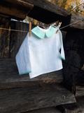 Lněná košilka Mint