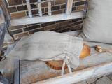 pytlík na chléb, eko obal, obal na pečivo, lněný pytlík