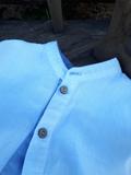 Lněná chlapecká košile