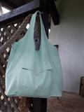 Lněná nákupní taška Fresh Mint