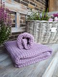 Lněná osuška a ručník Lavender
