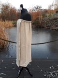 Lněně bavlněný dámský kilt