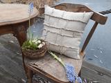 Lněný povlak na polštář Shabby Linen