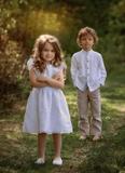 šaty, svadobné detské šaty, slávnostné detské šaty