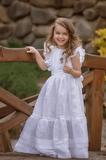 svatební dětské šaty, šaty, slavnostní šaty, dětské šaty