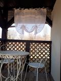 záclona, roletka, romantická záclona, vidiecka záclona