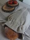 Lněné pytlíky na pečivo