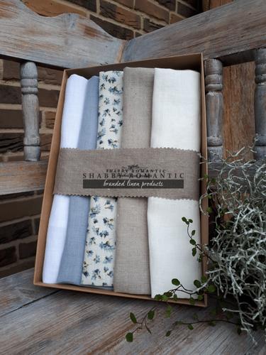 Dárková sada Linen Towels Cottage