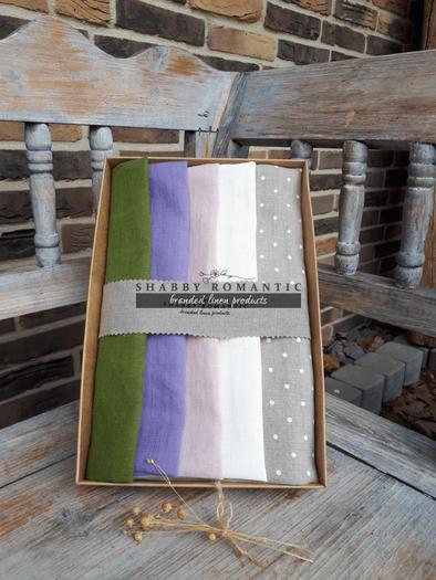 Dárková sada Linen Towels Fresh