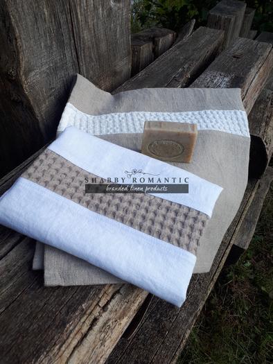 Lněná osuška a ručník Pure Linen I