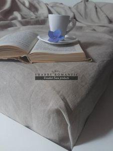 Lněné prostěradlo na postel