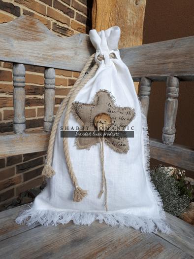 Mikulášský pytlík Natur Christmas Hvězda