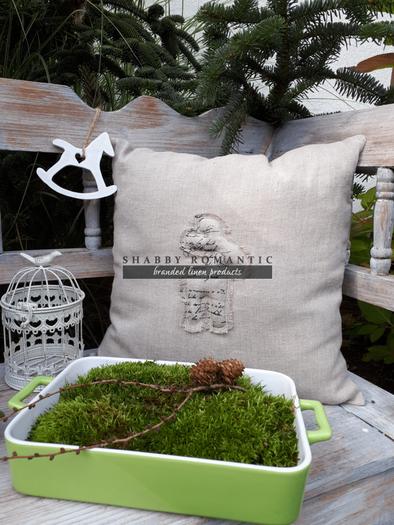 Povlak na polštář Natur Christmas IV