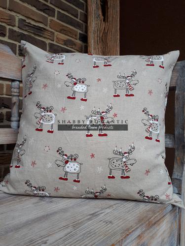 Vánoční povlak na polštář Christmas Deers